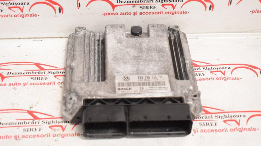 Calculator motor VW Golf 5 2.0 TDI BKD 03G906016FM 493
