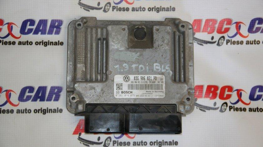 Calculator motor VW Golf 5 20 1.9 TDI BLS 03G906021PD / 0281014073 model 2007