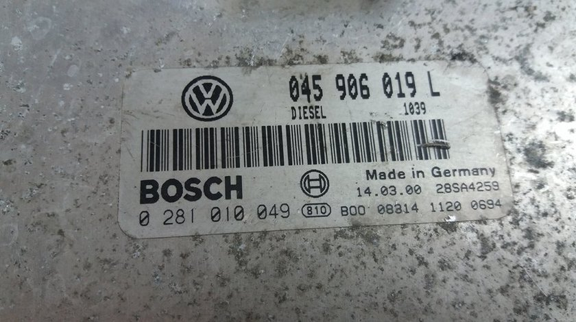 Calculator motor vw lupo 1.4tdi 045906019l 0281010049