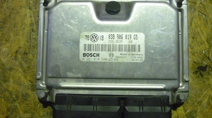 Calculator motor VW Passat 1.9 tdi 131cp cod 038906019GS