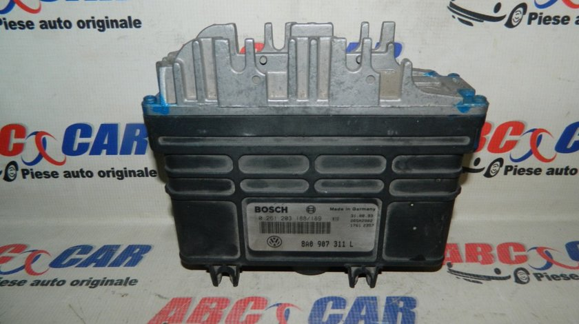 Calculator motor VW Passat B4 1.8 benzina cod: 8A0907311L