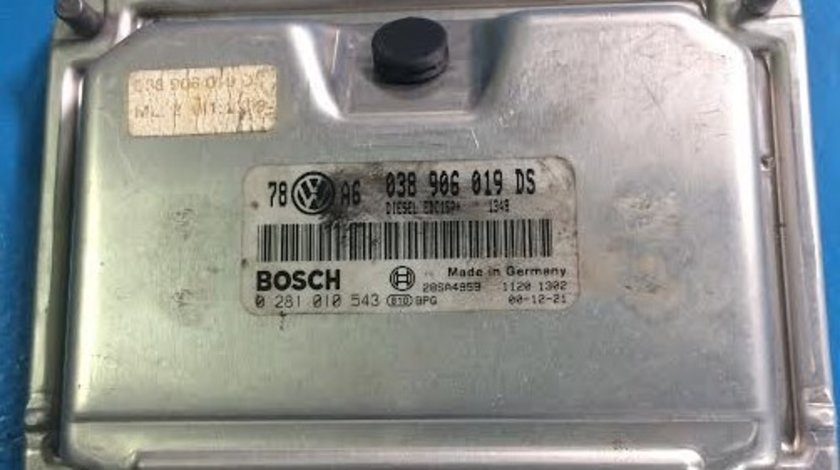 Calculator motor VW Passat B5 038906016DS