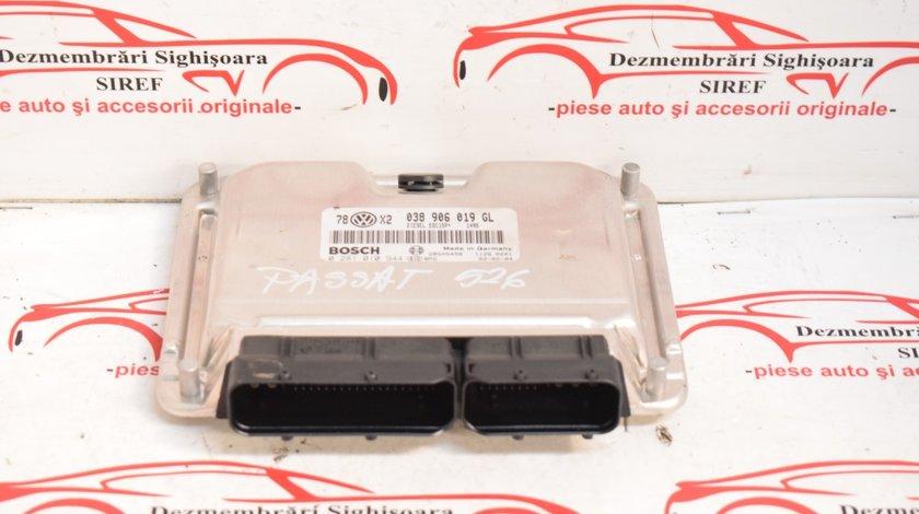 Calculator motor VW Passat B5 1.9 TDI AVB 038906019GL 526