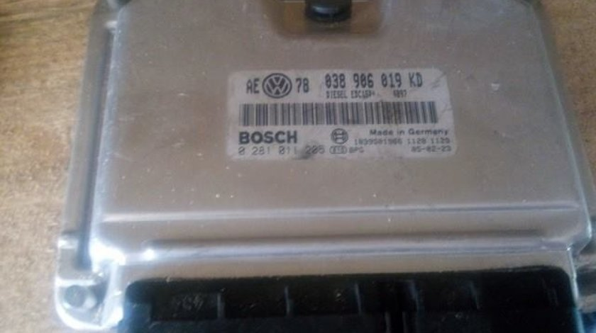 Calculator motor vw passat b5 1.9 tdi avf cod 038906019kd