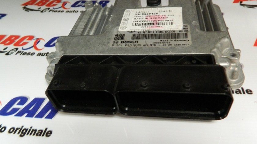 Calculator motor VW Touran 2.0 TDI cod: 03L907309R model 2011