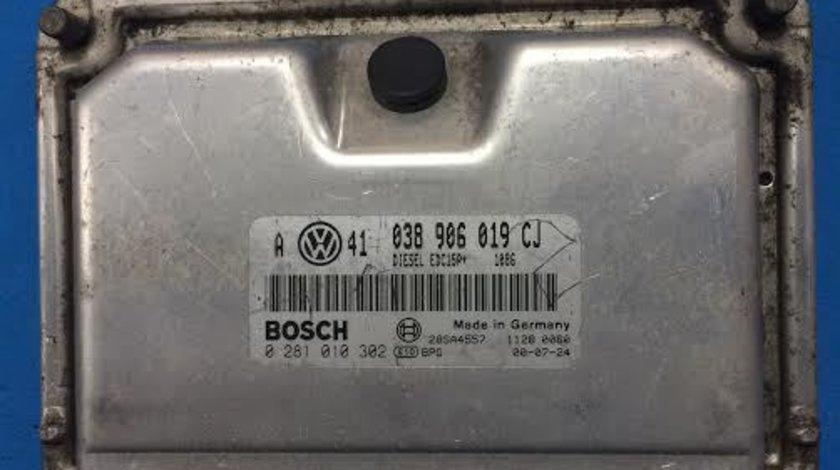 Calculator motor VW Volkswagen Golf 4 1.9 TDI AJM an 1998 - 2001 cod 038906019CJ