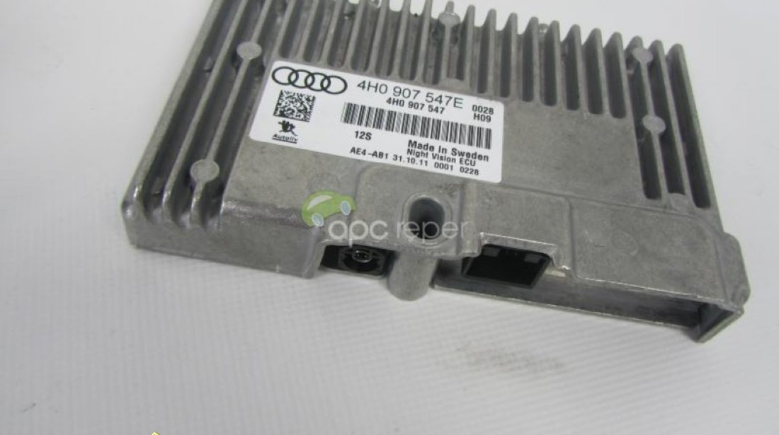 Calculator Night Vision Original Audi A8 4H A7 A6 4G cod 4H0907547E
