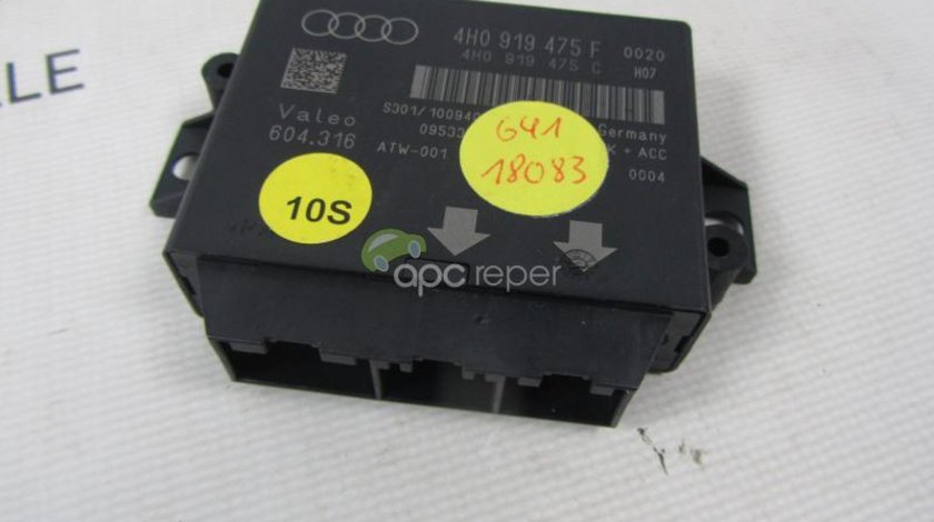 Calculator Parctronic Audi A6 4G, A7 4G, A8 4H 4H0 919 475 F original