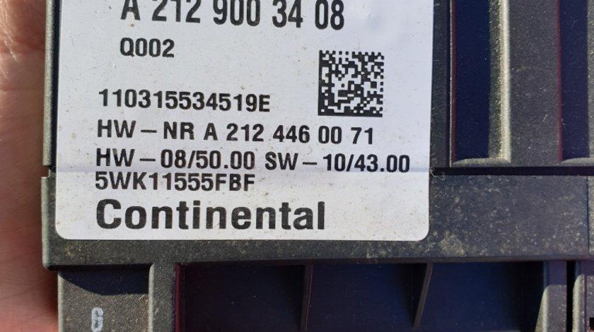 Calculator pompa combustibil A2129003408 Mercedes w212 w204