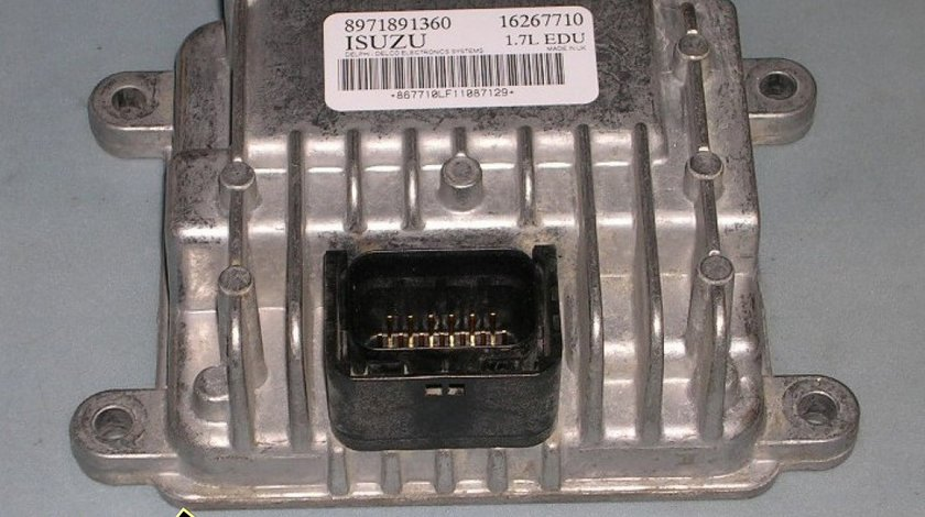 Calculator pompa injectie OPEL 1 7 DTI ISUZU