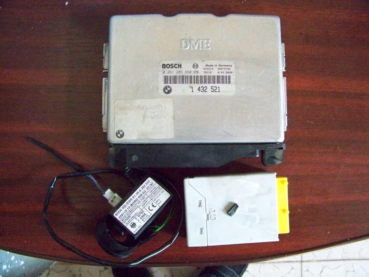 Calculator pornire motor bmw e36 316i 318i 1996 1997 cu cip si ews