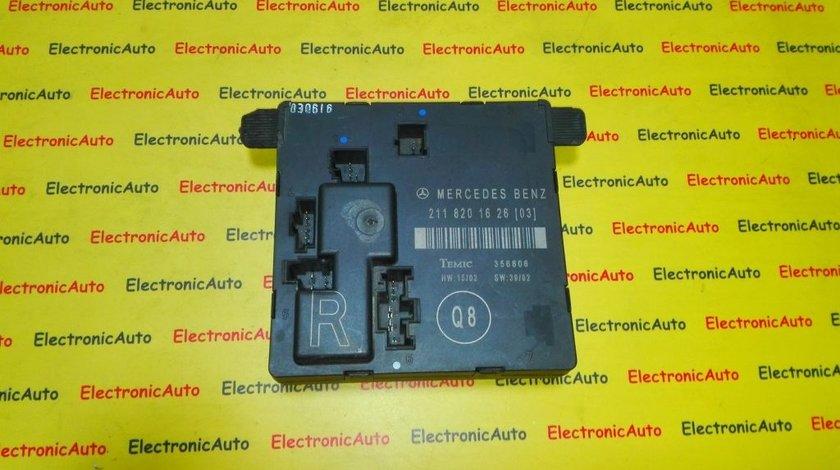 Calculator portiera dreapta spate Mercedes 2118201626