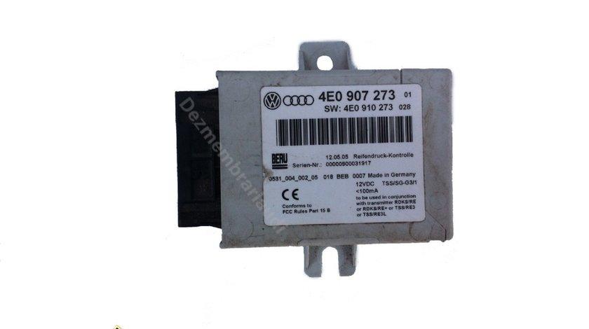 Calculator presiune roti AUDI A8 D3 4E an 2003 - 2010 cod 4E0907273 / 4E0910273