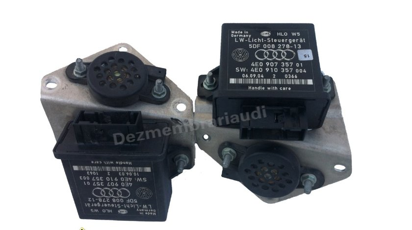 Calculator reglare far AUDI A8 D3 4E an 2003 - 2010 cod: 4E0907357