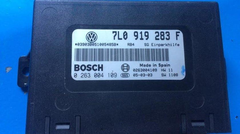 Calculator senzori de parcare/ parktronic VW Volkswagen Touareg 7L 2002 - 2010 cod 7L0919283F
