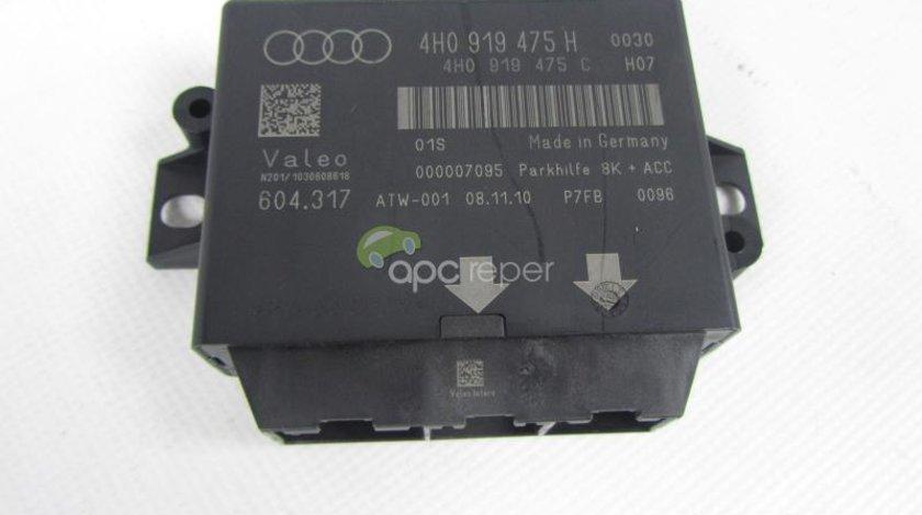 Calculator Senzori parcare Audi A8 4H/ A7 / A6 4g Original 4H0 919 475 H