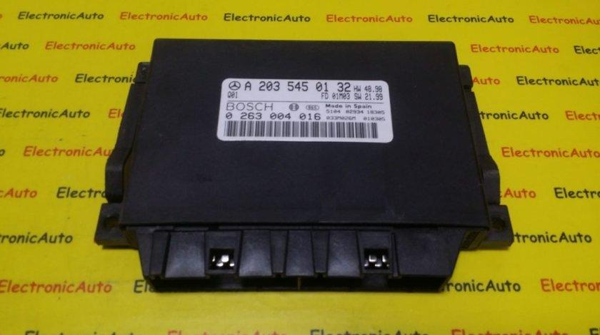 Calculator Senzori Parcare Mercedes C Class W203, A2035450132, 0263004016