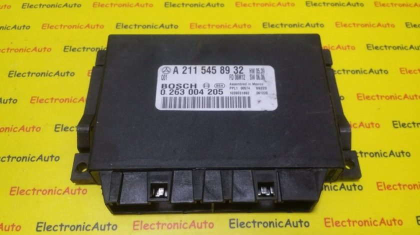 Calculator Senzori Parcare Mercedes E-Class W211, A2115458932, 0263004205