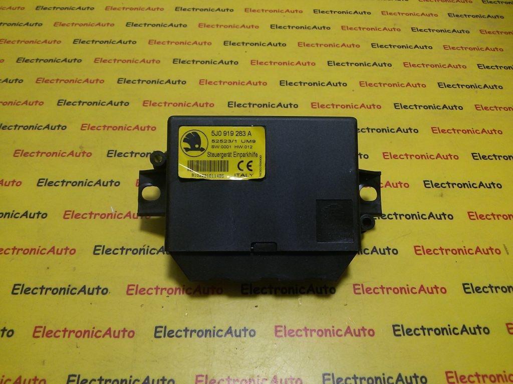 Calculator senzori parcare Skoda Fabia 2 II 5J0919283A