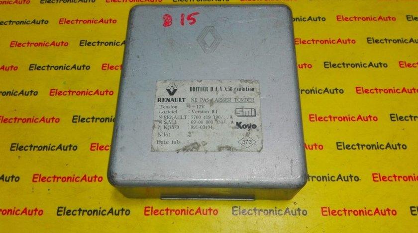 Calculator servodirectie Renault Laguna 7700419196 A