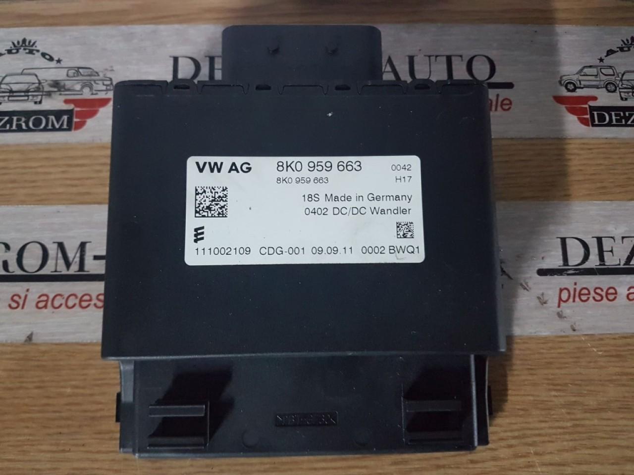 Calculator stabilizator tensiune 8k0959663 audi a4 b8 8k