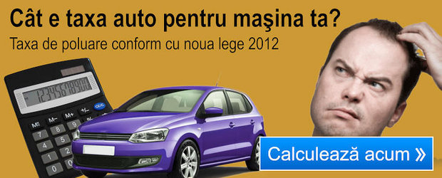 Calculator taxa poluare auto 2012
