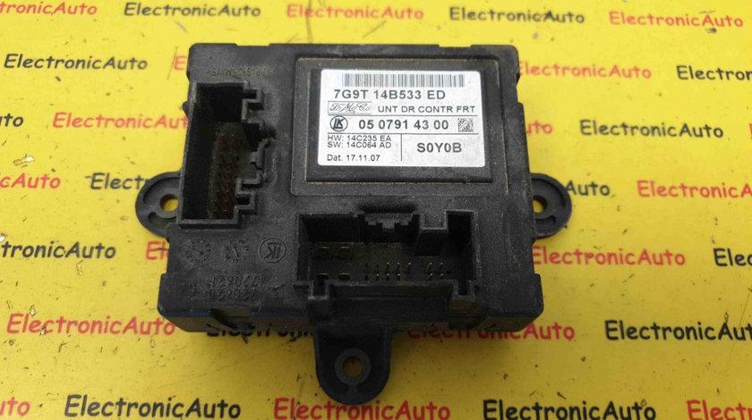 Calculator Usa Dreapta Jaguar XF, Ford Mondeo Mk4, 7G9T14B533ED, 0507914300