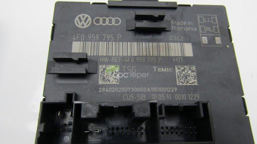 Calculator usa dreapta spate  Audi A6 4F Facelift 2010 - 2,0Tdi cod 4F0959795P