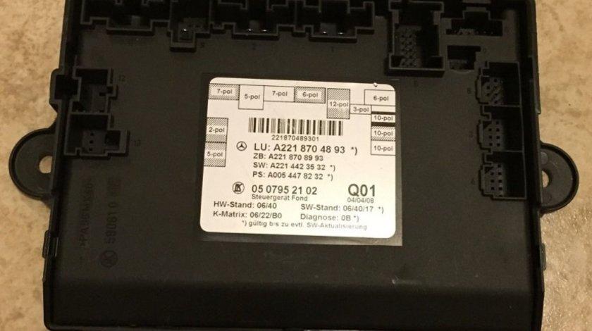 Calculator usa dreapta spate Mercedes S320 cdi w221