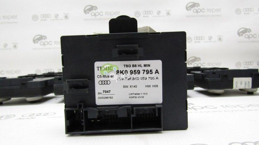 Calculator usa stanga spate Audi A4 B8 8K - Cod: 8K0959795A