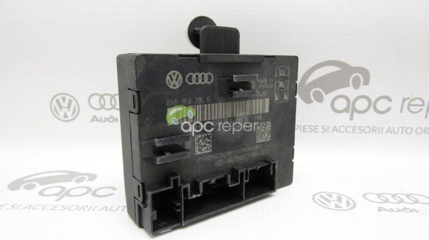 Calculator usa stanga spate Skoda Superb 2 (3T) - Cod: 8X0959795B