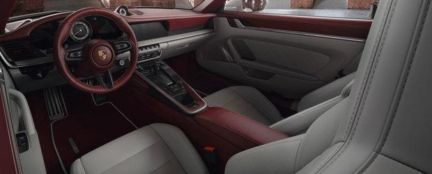Cam asa arata un interior de Porsche 911 pentru pretentiosi. Oferta diviziei de personalizare a nemtilor