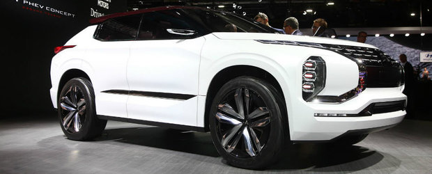 Cam asa va arata viitorul Outlander. Mitsubishi a prezentat conceptul GT-PHEV la Salonul Auto de la Paris