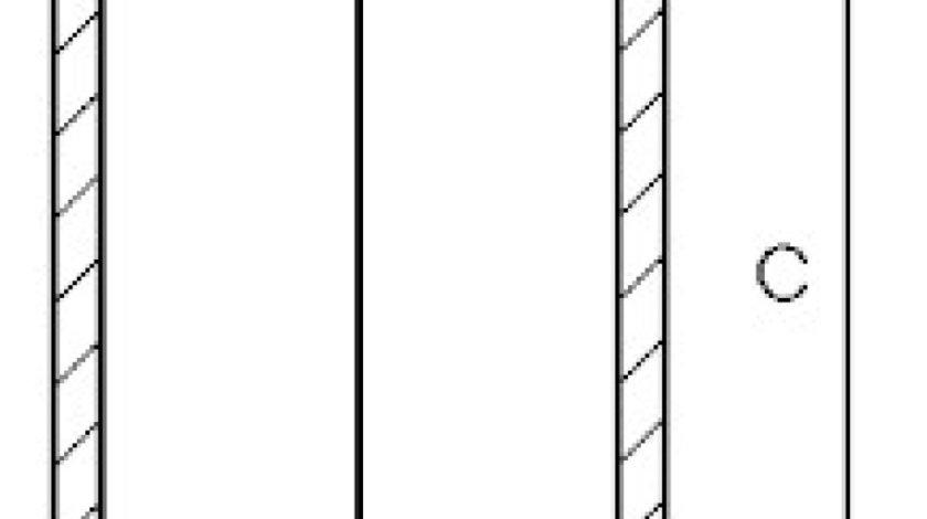 Camasa cilindru MERCEDES-BENZ ATEGO Producator GOETZE ENGINE 14-028610-00