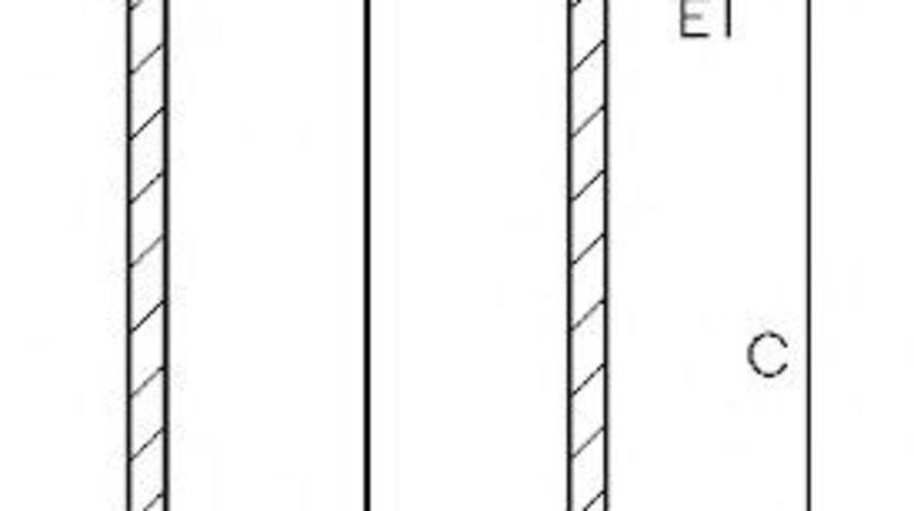 Camasa cilindru RENAULT MODUS / GRAND MODUS (F/JP0) (2004 - 2016) GOETZE ENGINE 14-020650-00 piesa NOUA