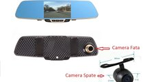 Camera Auto DVR - B600 Oglinda, Dual si functia de...
