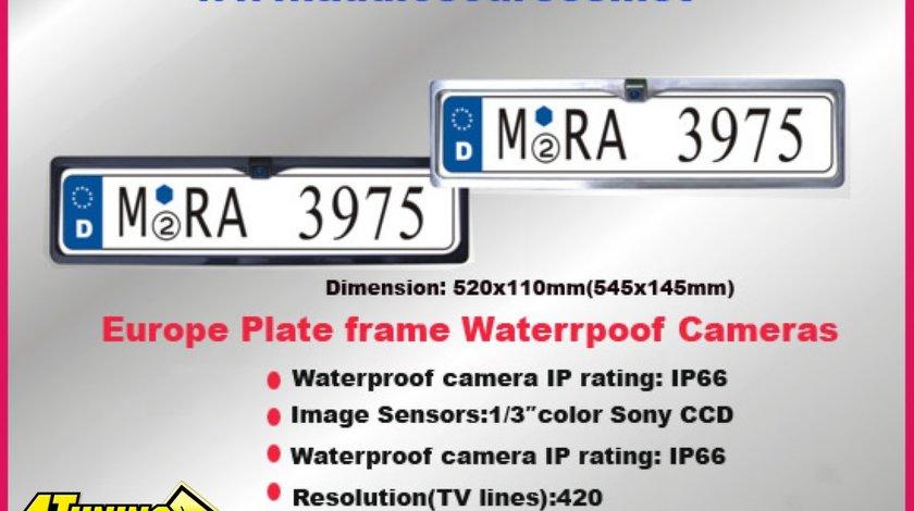 Camera De Mers Inapoi In SUPORT Numar Inmatriculare