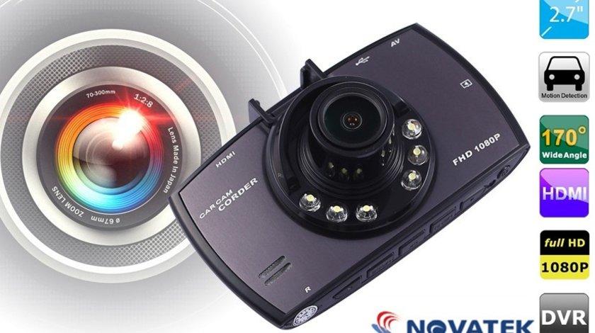 Camera Video Auto DVR G30 Novatek 96650 Full HD 1080p 170 Grade
