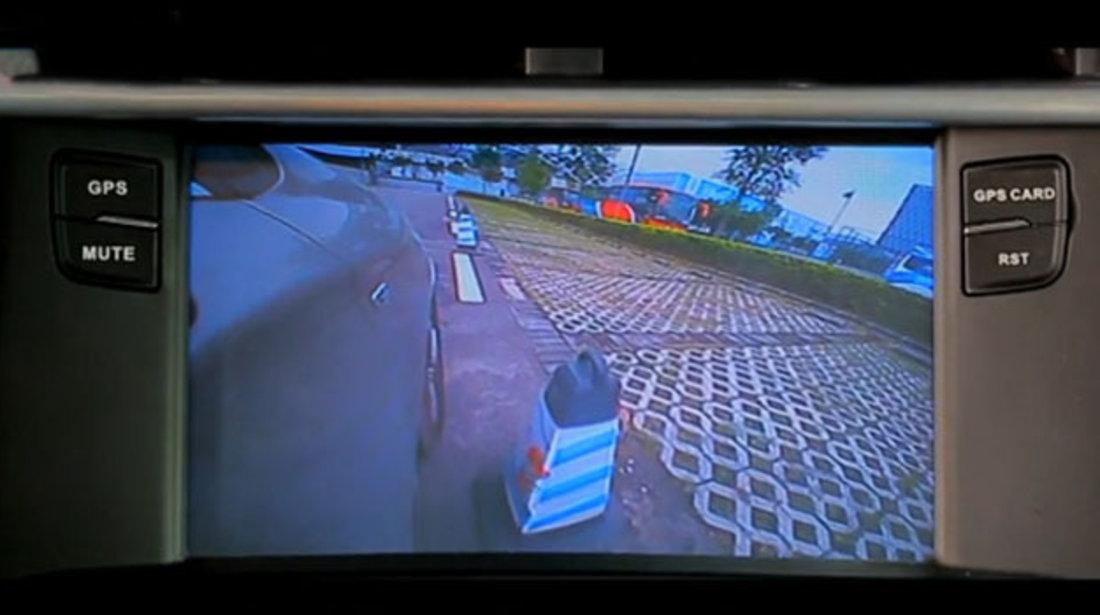 CAMERA VIDEO AUTO UNIVERSALA DE FATA VIZUALIZARE 170° WATER PROOF MONTAJ IN SPOILER SAU OGLINDA