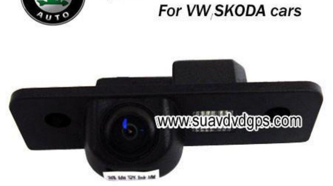 Camera Video Dedicata Skoda 199 Lei Look Oem