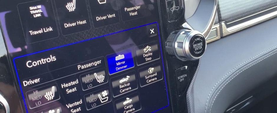 Camioneta care te face sa te simti ca intr-un S-Class. Scaunele ventilate si bordul din piele sunt standard