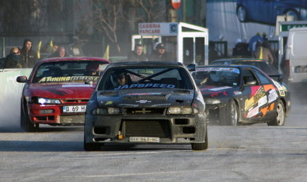 Campionatul de Drift, etapa 1 - finalistii si castigatorii