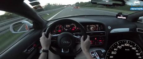 Cand calca acceleratia da vitezometrul peste cap. Uite cat de rapid este Audi-ul de 811 CP