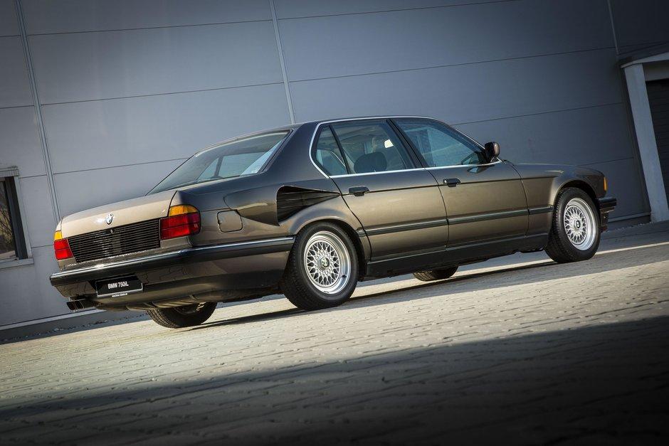 Cand cerul era limita la BMW: proiectul Goldfish, un Seria 7 cu motor V16 de 6.7 litri