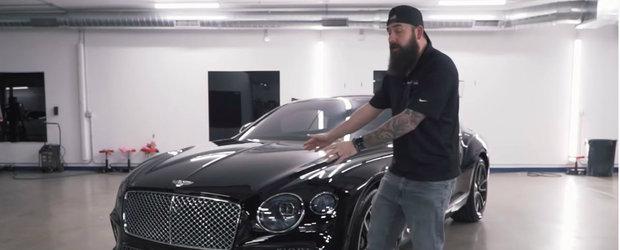 Cand dai 200.000 de dolari pe un Bentley, te astepti la perfectiune. El a trimis masina in service dupa nici 500 de km