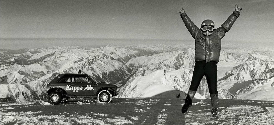 Cand masinile atingeau cerul: un Peugeot a incercat sa coboare Mont-Blanc in 1982
