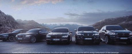 Cand te lauzi, dar ai si cu ce. BMW isi prezinta gama M Performance in stilul caracteristic.