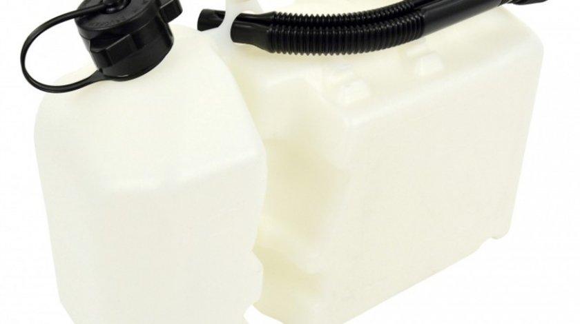 Canistra combustibil plastic cu dublu compartiment, 6L combustibil, 2L Ulei , Carpoint