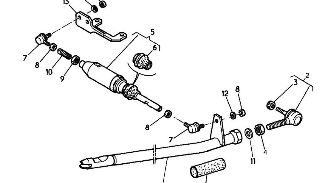 Cap bara mecanism schimbare viteze Renault Midlum (poz.7) RENAULT TRUCKS 5010242799