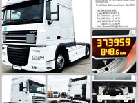 CAP TRACTOR SECOND-HAND DAF XF 105.460 EEV-LEASING-CREDIT-SI FIRME NOI